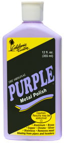 Purple Metal Polish 12oz. 1 bottle